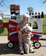 OSF Life Flight Homemade Costume