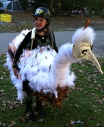 Ostrich Racer Homemade Costume