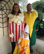 Our Family is So Corny! Homemade Costume