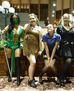 Homemade Mortal Kombat costumes