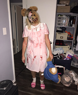 Out of a Nightmare Homemade Costume