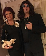 Ozzy and Sharon Homemade Costume