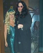 Ozzy Osbourne & Mermaid Homemade Costume
