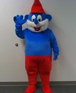 Pa Smurf Costume