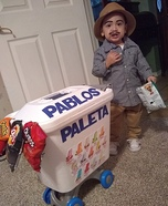 Pablo the Paletero Homemade Costume