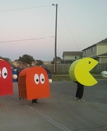 Pac-Man Family Costume