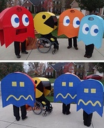 DIY Pac-Man Family Costume
