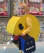 Pac Man Homemade Costume