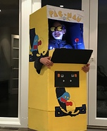 Pac Man Machine Homemade Costume