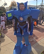 Pacific Rim Gypsy Danger Homemade Costume