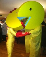 Pacman and Ms Pacman Couple Costume