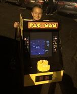Pacman Arcade Homemade Costume