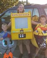 Pacman Arcade Game Homemade Costume