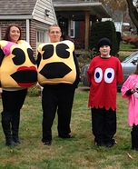 Pacman Family Homemade Costume