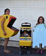 Pacman Family Retro Fun Homemade Costume