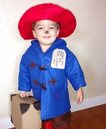 Paddington Bear Homemade Costume
