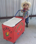 Paleta Man Baby Homemade Costume