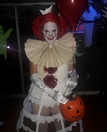 Pammywise the Dancing Clown Homemade Costume