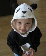 Panda Bear Homemade Baby Costume