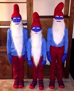 Papa Smurf Homemade Costumes