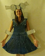 Paper Doll Homemade Costume