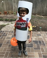 Paper Towel Roll Homemade Costume