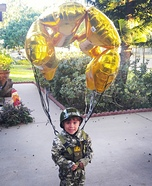 Paratrooper Homemade Costume