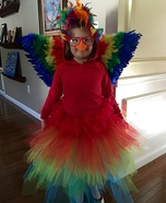 Parrot Homemade Costume