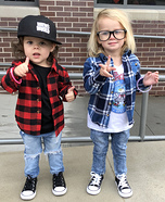 Party on Wayne! Party on Garth! Homemade Costume
