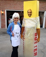 Coolest couples Halloween costumes - Paula Deen and her Butter Costume