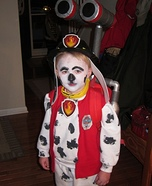 Paw Patrol Marshall Homemade Costume