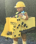 Paw Patrol Rubble Homemade Costume