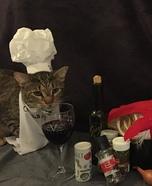 Pawfect Dinner Homemade Costume
