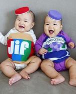 PB & J Baby Twins Costume