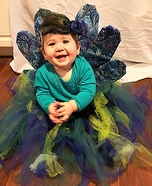 Cute Peacock Baby Costume