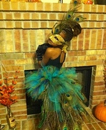 Peacock Costume for a Girl