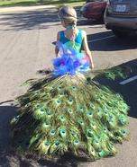 Peacock Girl's Costume