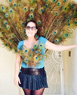 Peacock Homemade Costume for Women
