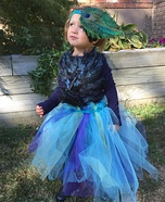 Peacock Baby Homemade Costume