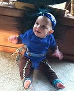 Peacock Baby Homemade Costume