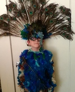 Peacock Boy Homemade Costume