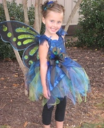 Peacock Fairy Homemade Costume