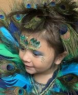 Peacock Princess Homemade Costume