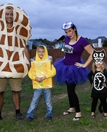 Peanut Butter Jelly Time Homemade Costume
