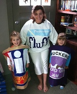 Homemade PB&J Costumes