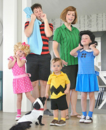 Peanut Gang Family Costume