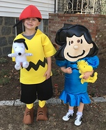 Peanuts Charlie Brown and Lucy Costume