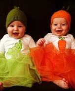 Peas & Carrots Baby Costumes