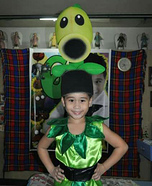 Peashooter Homemade Costume