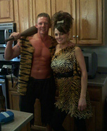 Pebbles and Bam Bam Costumes